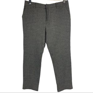 Boy Band Of Outsiders Plaid Check Boy Ankle Pants